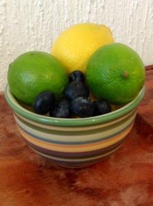 lemon lime blueberry
